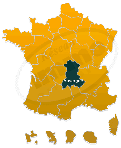 Repere immobilier Auvergne national