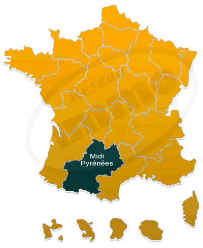 Repere immobilier Midi-Pyrenees national