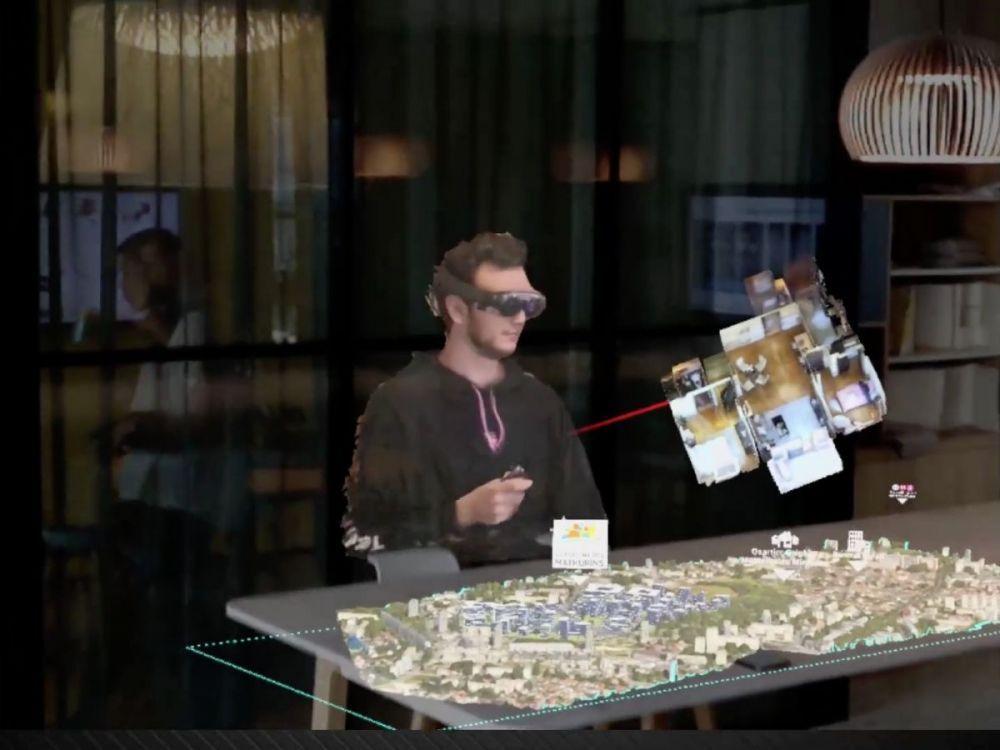 """Hologramme: on a testé les réunions virtuelles par """"holoportation"""""""