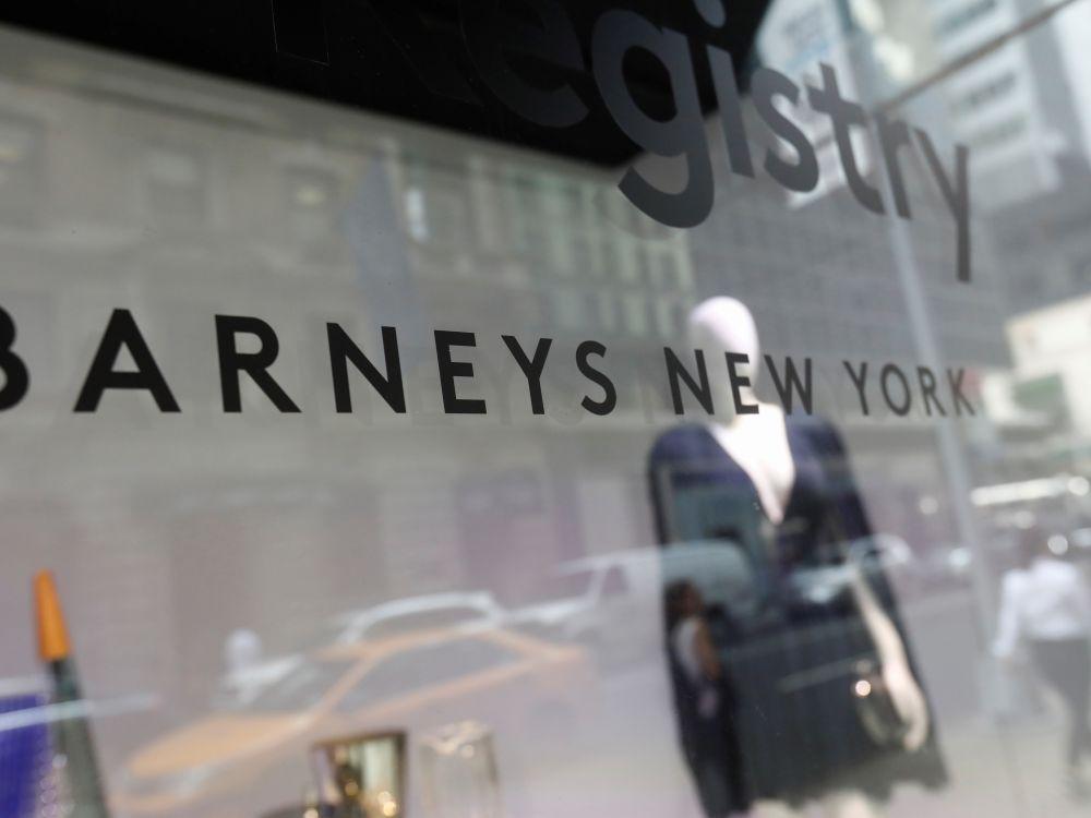 Les magasins de luxe Barneys en faillite, cherchent un repreneur