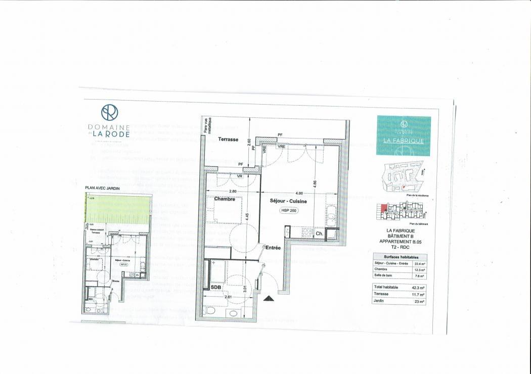 Vente Appartement 2 pièces L'ISLE SUR LA SORGUE 84800
