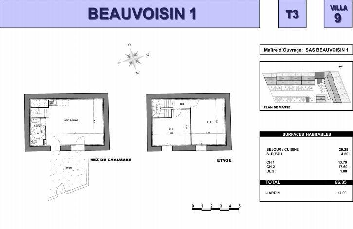 Vente Maison 3 pièces BEAUVOISIN 30640
