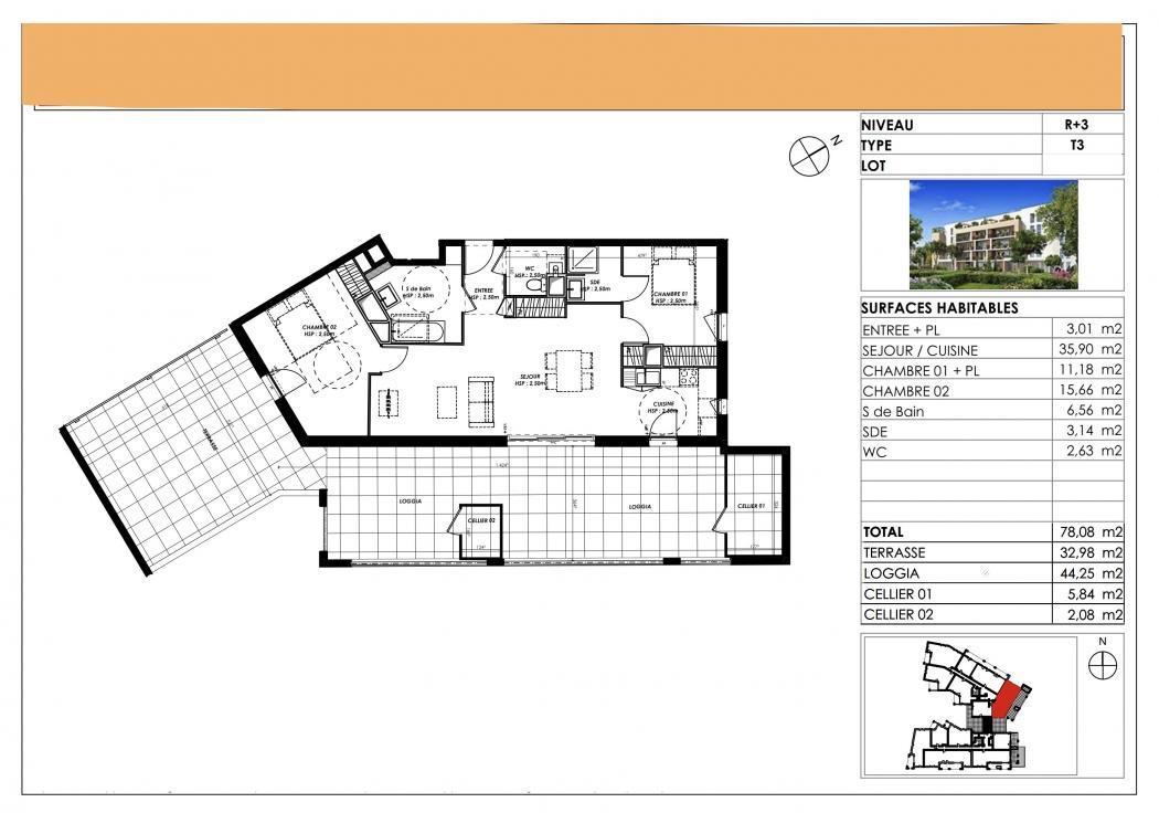 Vente Appartement 5 pièces LE BOUSCAT 33110