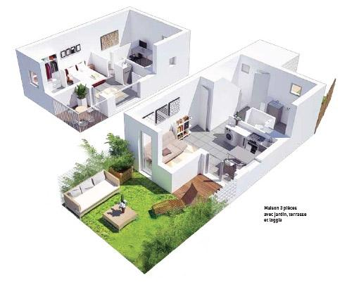 Vente Maison 3 pièces BLANQUEFORT 33290