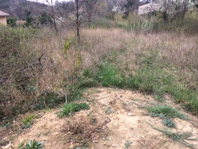 Vente terrain constructible soyons n bh69465 immobilier for Frais notaire terrain constructible