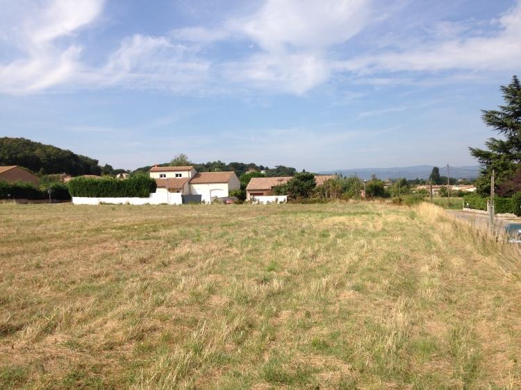 Vente terrain constructible beaumont les valence n bu75464 for Frais notaire terrain constructible