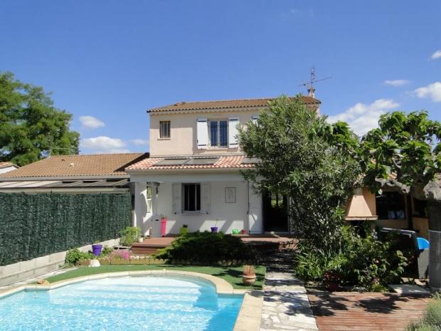 30 nimes archive maison nimoise jardin piscine n 59829 immo diffusion 30 - Maison jardin menu nimes ...