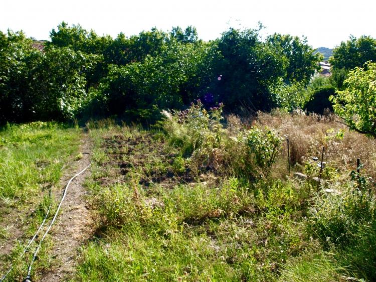 vente maison avec jardin non attenant cascastel des