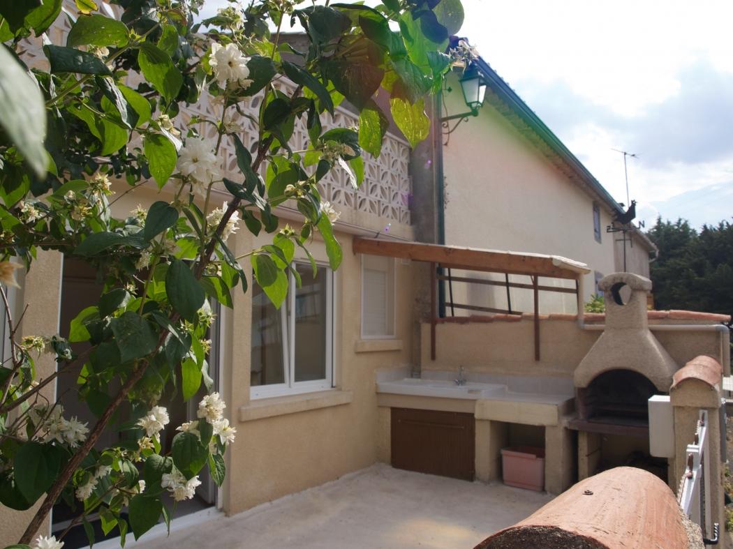 Vente maison terrasse et garage villeneuve les corbieres n for Terrasse et cie immobilier