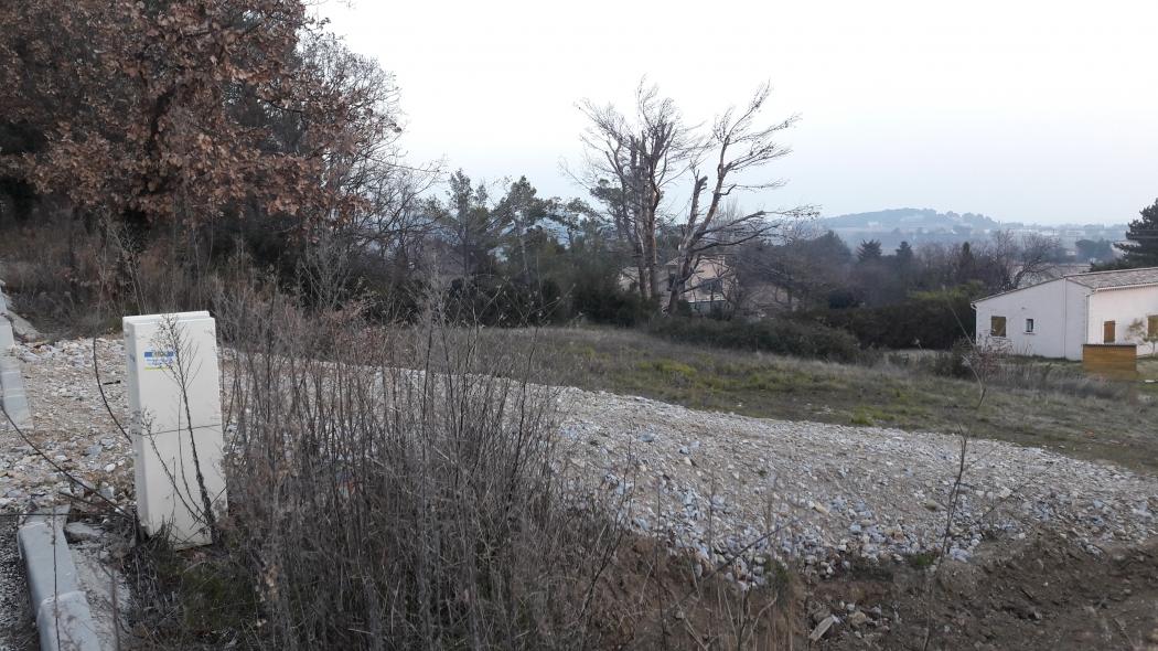 Vente terrain constructible de 1500 m pont st esprit tranquille n op79468 immobilier pont st - Garage pont saint esprit ...
