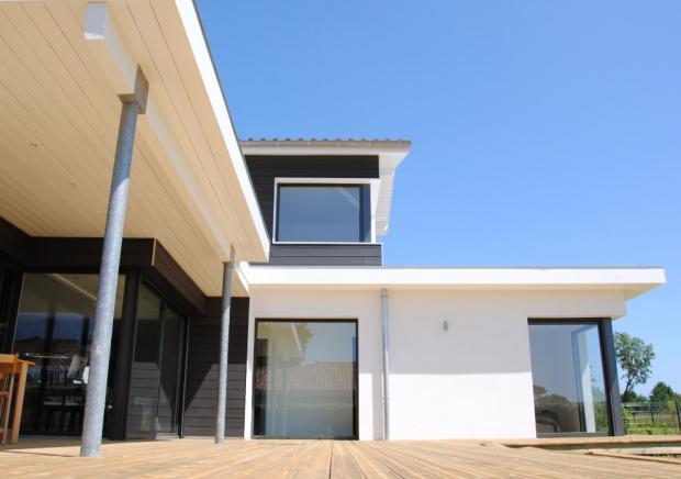 landes hossegor archive villa d 39 architecte n 46156 immo diffusion landes. Black Bedroom Furniture Sets. Home Design Ideas