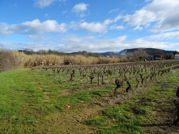 Vente terrain constructible goudargues vallee de la ceze n for Frais de notaire pour achat d un terrain non constructible