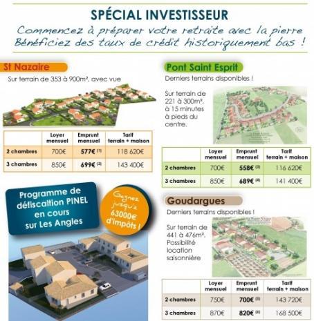 Vente maison avec jardin pont st esprit n ie78834 for Jardin immobilier
