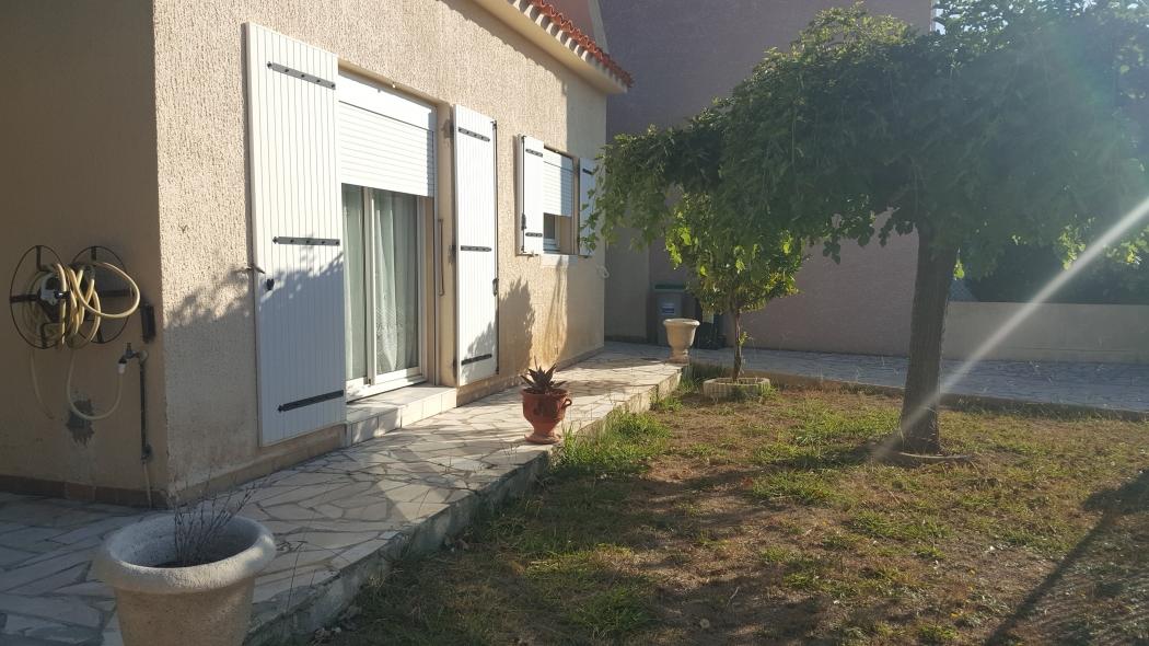 Vente maison plain pied 3 faces perpignan quartier calme for Immobilier perpignan