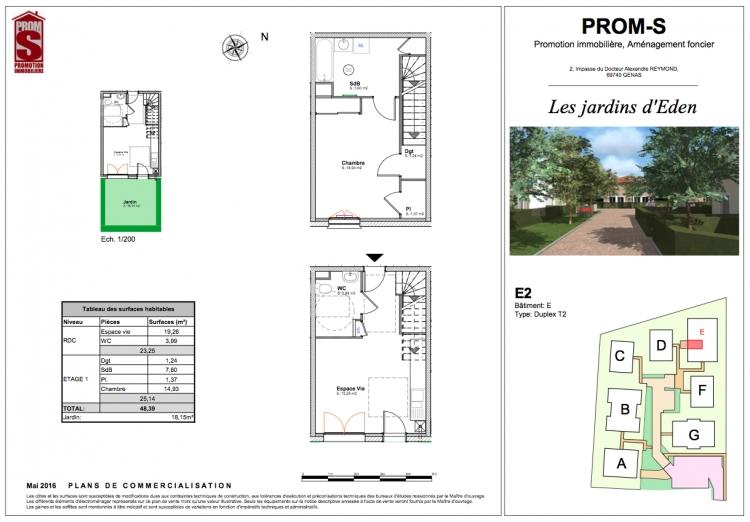Vente maison e2 chassieu n om72936 immobilier chassieu rhone for Achat maison chassieu