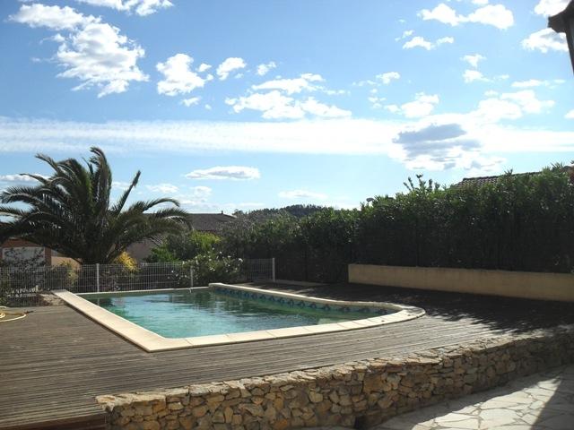 Vente villa de plain pied avec piscine pezenas quartier r - Pezenas piscine ...