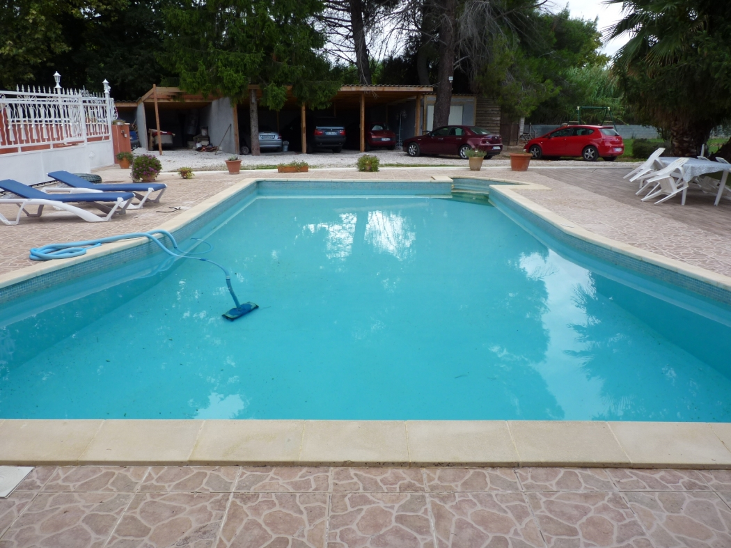 34 servian archive villa mas terrain piscine n 71479 - Pezenas piscine ...