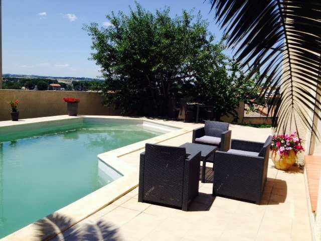 Vente maison piscine beziers n rh72552 immobilier for Piscine beziers