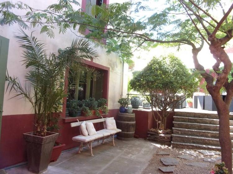 Vente maison jardin et terrasse pailhes n rh74297 for Jardin terrasse immobilier