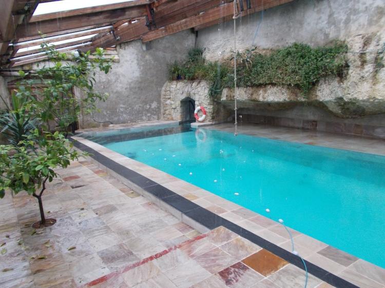 Vente maison lezat leze vall e de la l ze n tw71695 immobilier lezat le - Cout piscine chauffee ...