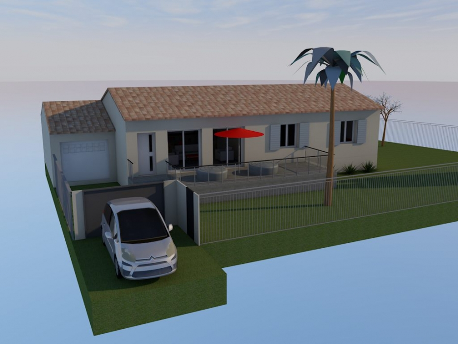 Vente maison rt2012 vauvert petite camargue n zc79324 for Garage des canaux vauvert