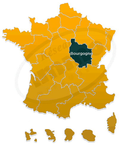 Repere immobilier Bourgogne national