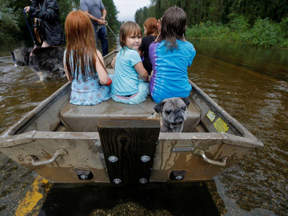USA: La Caroline du Nord dévastée par la montée des eaux