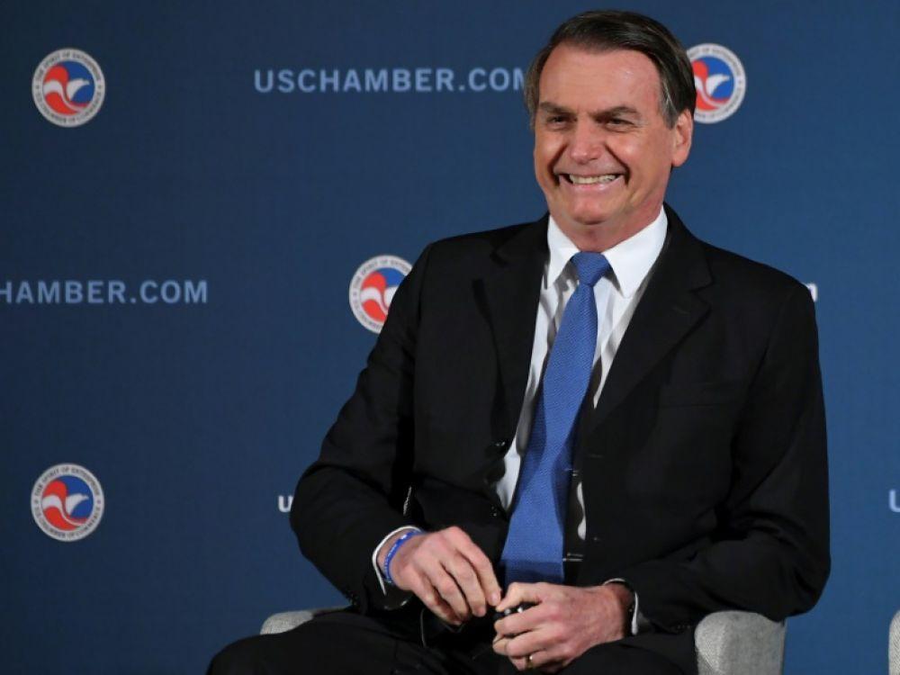 """Trump accueille Bolsonaro, le """"Trump des tropiques"""""""