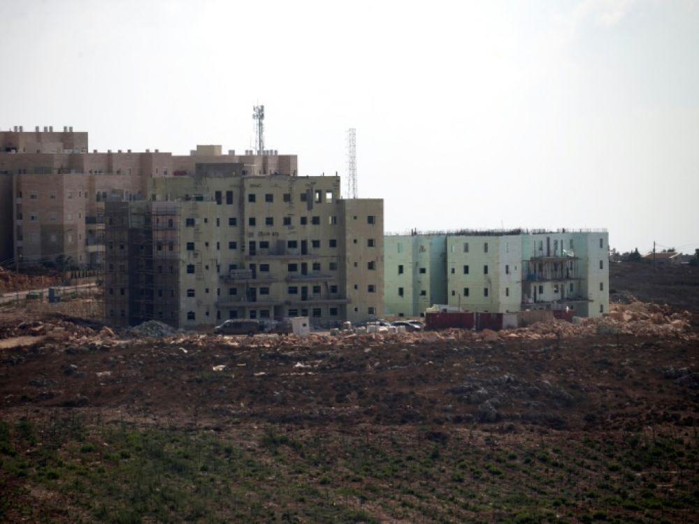 Israël approuve la construction de 2.300 logements dans les colonies