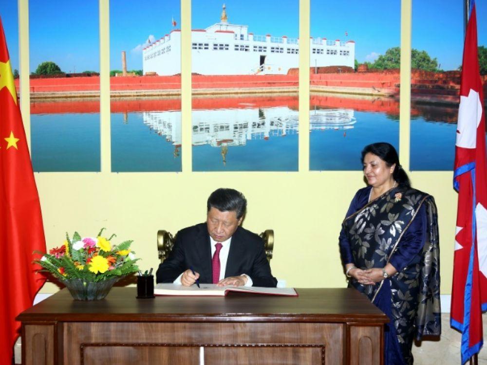 Népal-Chine: Xi à Katmandou pour discuter d'infrastructures